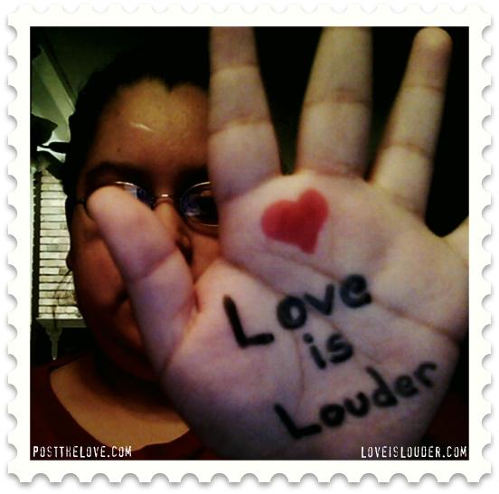 Rachel-post-the-love-love-is-louder